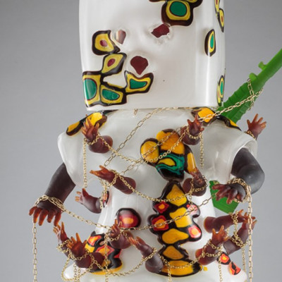 Hew Locke featured in White Light/White Heat: Contemporary Artists & Glass at the Wallace Collection