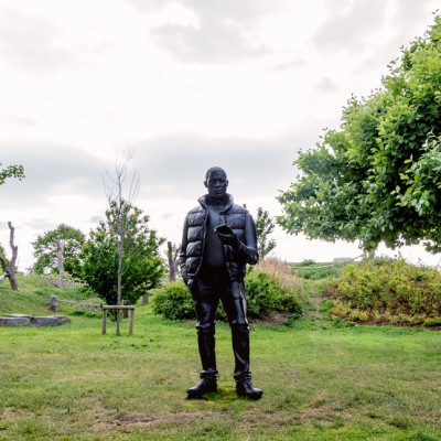 Thomas J Price in The Line, an East London Sculpture Trail