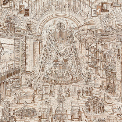 Adam Dant's Election Artwork unveiled in Speaker's House