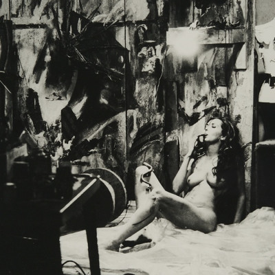 Carolee Schneemann and Stuart Brisley in