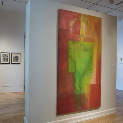 Frank Bowling | The Warmth of Other Suns: Stories of Global Displacement | The Phillips Collection