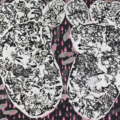 Trenton Doyle Hancock, 'Hot Coals in Soul', 2010.
