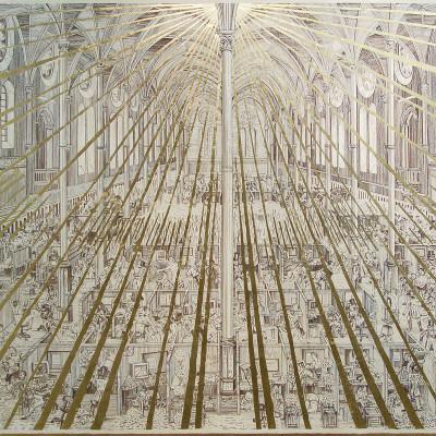 Adam Dant, 'The Dissolution of the Call Centre', 2009.