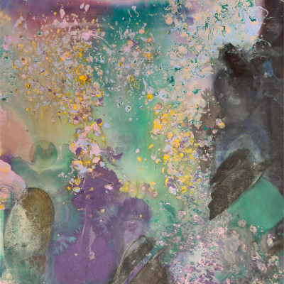 Frank Bowling, Moby Dick, 1981 (detail)