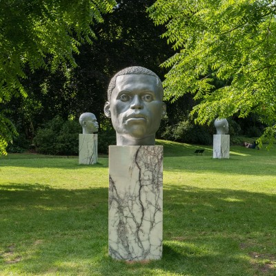 Thomas J Price, Frieze Sculpture Park, London 2017