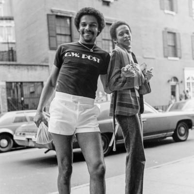 Sunil Gupta, Untitled #8, Christopher Street, New York, 1976, (detail)