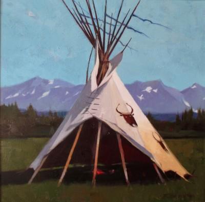 R. Tom Gilleon, Piegan Indian Summer