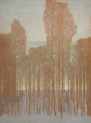 David Grossmann, Through the Winter Trees