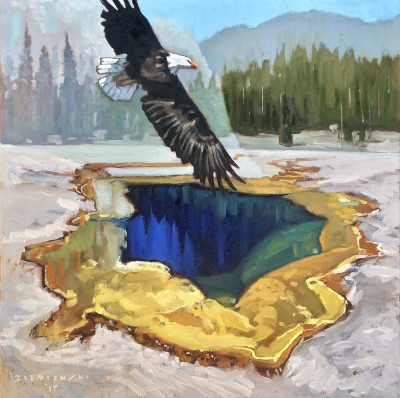 Dennis Ziemienski, Fountain Paint Pot, Yellowstone National Park