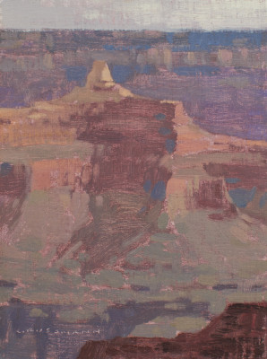 David Grossmann, Late Morning Light, Grand Canyon