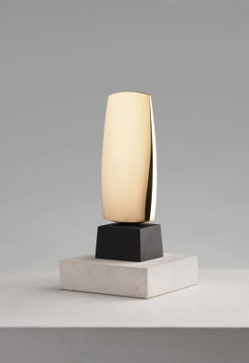 Denis Mitchell 1912-1993Veor polished bronze on slate base signed with initials, dated 1986 and titled on base artist's cast from an edition of 7 16 cms (H) (6.25 ins)