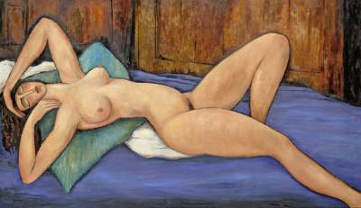 Erik Renssen, Reclining Nude, 2009