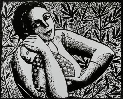 Anita Klein PPRE Hon. RWS, The Olive tree