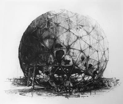 Ian Chamberlain RE, Dome II