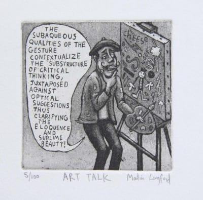 Martin Langford RE, Art Talk