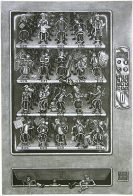 Martin Langford RE, Vending Machine