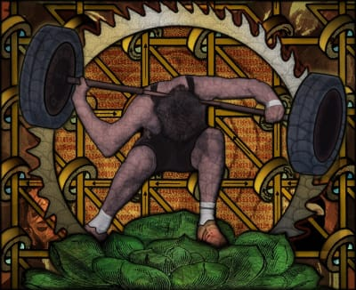 Paul Thirkell RE, The Weight