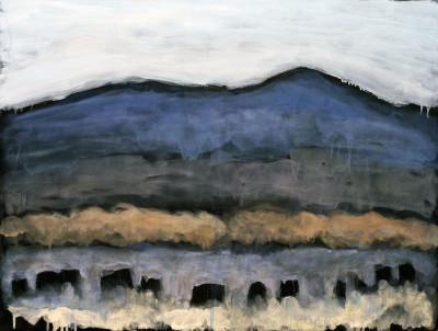 Works on Paper by Theodore Waddell, Red Willow Angus Dr. #12
