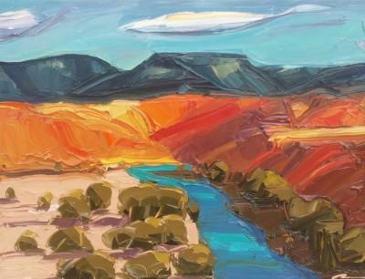 Mateo Romero, Canyon Series #1