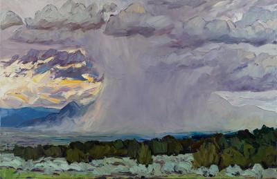 Jivan Lee, Thirty Five- Storm Over the Mountain