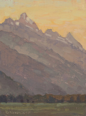 David Grossmann, Teton View Sunrise