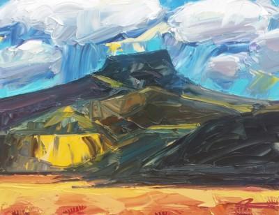 Mateo Romero, Tsi Ping/ Flint Mountain #2
