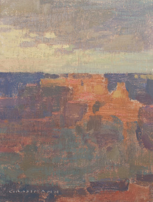 David Grossmann, Fading Sunset, Grand Canyon