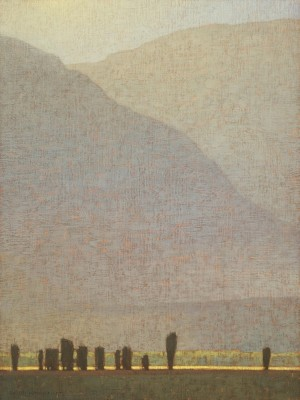David Grossmann, Late Afternoon Light Near Antelope Flats