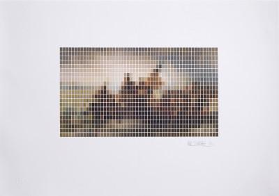 Nick Smith, Washington Crossing The Delaware - Microchip, 2020