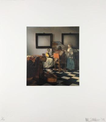 Nick Smith, Vermeer - The Concert, 2019