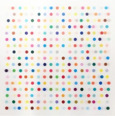 Damien Hirst, Mescaline Lenticular, 2014