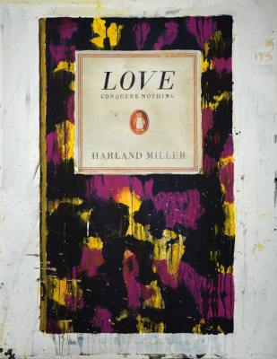 Harland Miller, Love Conquers Nothing, 2011