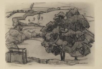 Robert Bevan (1865-1925)Rosemary Lane, near Clayhidon, 1920