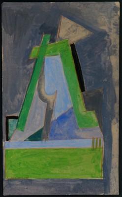 Lawrence Atkinson (1873-1931)Vorticist Composition, c. 1913/14