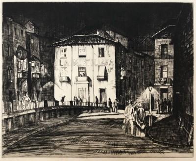 Ethelbert White (1891-1972)La Montillana, Granada, c. 1920s