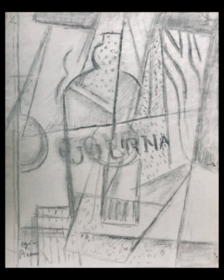 Marie Marevna (1892-1984)Le Journal Still Life (after Picasso), c. 1920
