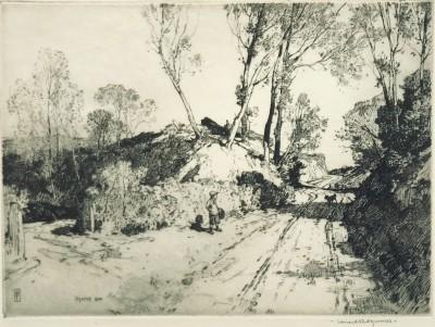 Leonard Squirrell (1867-1947)Early Spring in Suffolk, 1924