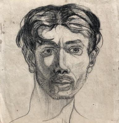 Robert MacBryde (1913-1966)Self Portrait, c. 1938