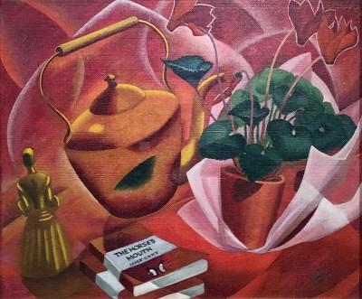 Doris Hatt (1890-1969)Still Life (The Horse's Mouth), 1952
