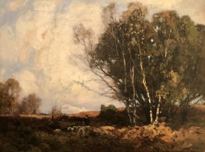 John Noble Barlow (1861-1917)Autumn Gold, Cornwall, c. 1895