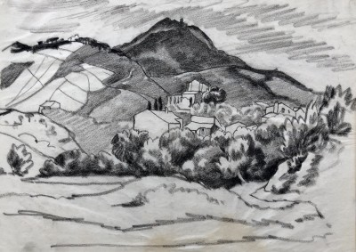 Ethelbert White (1891-1972)Hillside, Mallorca, c. 1930