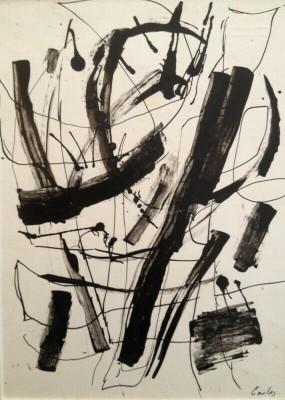 Carlos Carnero (1922-1980)Composition abstraite, c. 1960