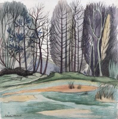 Ethelbert White (1891-1972)Woodland Landscape, c. 1915