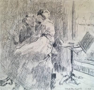 Walter Sickert (1860-1942)Femme de lettres, 1913/14