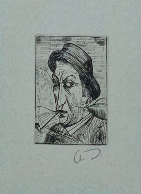 André Derain (1880-1954)Self Portrait, 1913