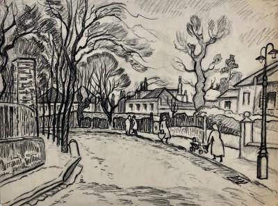 Ethelbert White (1891-1972)The Grove, Hampstead, c. 1930
