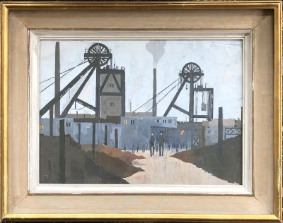 Hilary Miller (b. 1919)A Lancashire Colliery, c. 1950