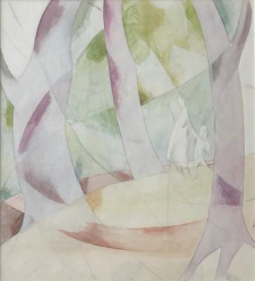 Doris Hatt (1890-1969)Woodland Walk No. 1, c. 1940s