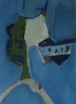 Alan Wood (b. 1935)Abstract Composition, 1962