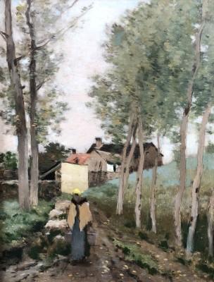 Jean-Charles Cazin (1841-1901)Paysage, 1893